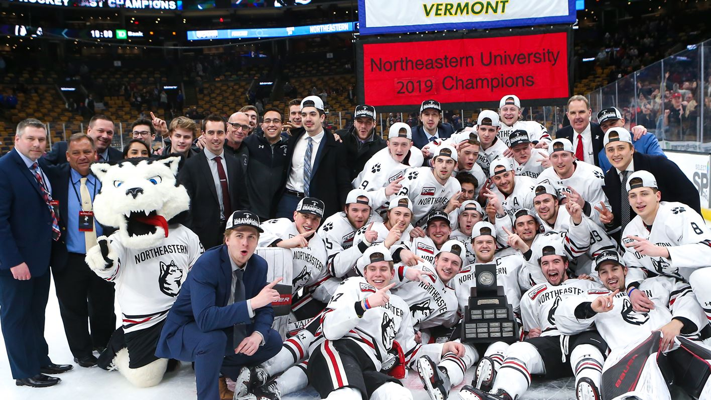 Beasts of the East: Northeastern captures third Hockey East title