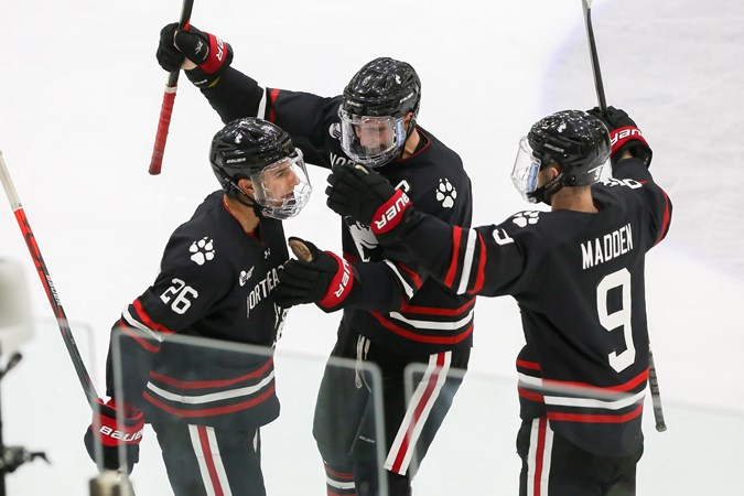 No. 15/RV Northeastern sweeps Union in 2-1 victory